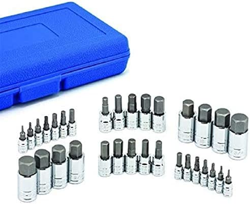 Limited price sale JR Quality Tools Hex Allen Bit Socket S Metric Deluxe S2 Set and SAE