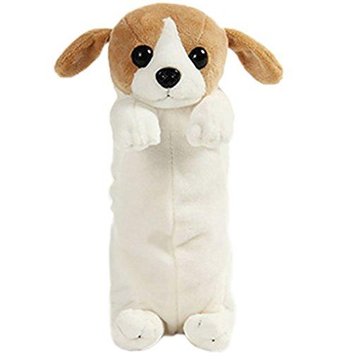 BIGBOBA - Cute e Creativo Astuccio Cassa di Matita, Forma di cane Borsa di Penna Grande...