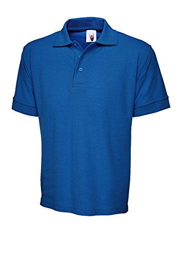 UC104 - Royal - Large - 250GSM Ultimate Poloshirt