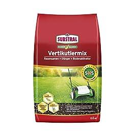 Substral Mix scarification rasenreparatur-mischung en semences de pelouse, engrais de gazon et activateur de sol, pour…