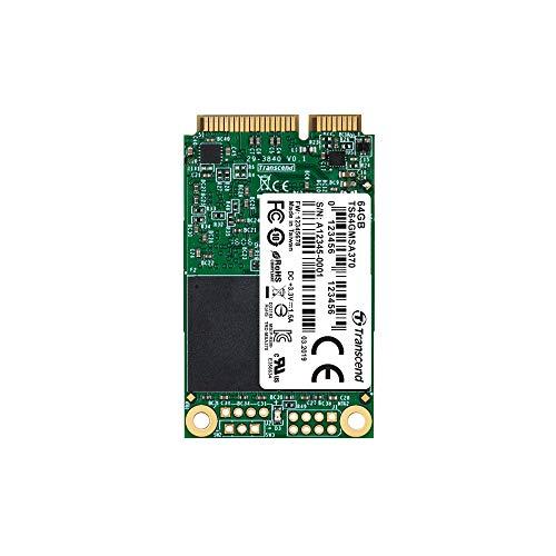 Transcend 64GB SATA III 6Gb/s MSA370 mSATA SSD 370 SSD TS64GMSA370