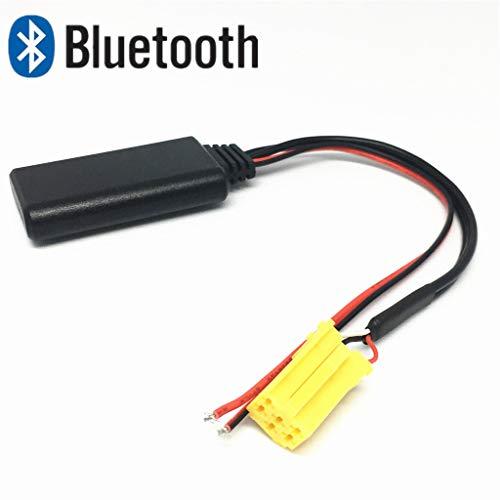 Adaptateur Bluetooth, Lecteur CD stéréo AUX pour Voiture Compatible avec Fiat Alfa Romeo 159 Lancia Mercedes Benz Smart 451