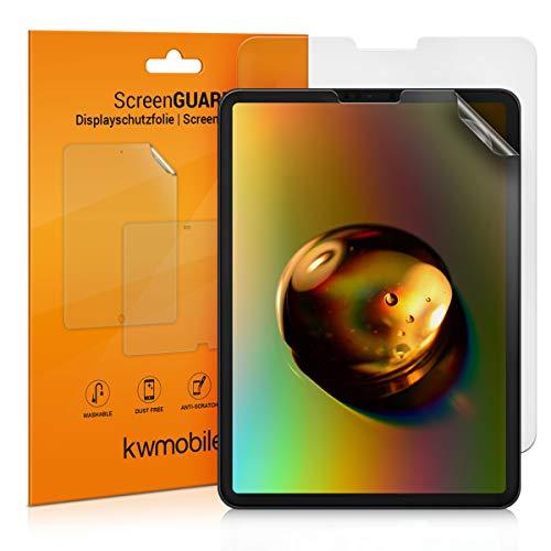 kwmobile 2X Schutzfolie kompatibel mit Apple iPad Pro 11