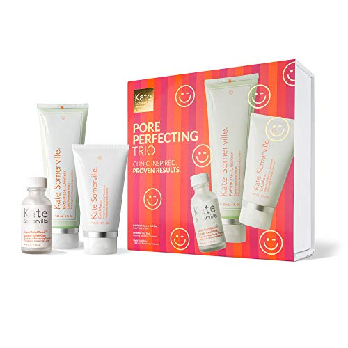 Kate Somerville Pore Perfecting Trio- Exfoliating Products For Smoother...