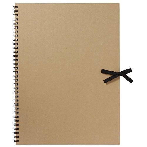 MUJI Moma Cuaderno de bocetos de papel reciclado 332×242mm 20hojas