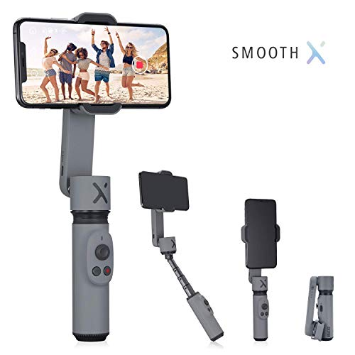 Zhiyun Smooth X 2- Axis Smartphone estabilizador gimbal para iPhone 11 Pro Xs Max Xr X 8 Plus 7 6 SE Smartphone Android Samsung Galaxy Note10 S10
