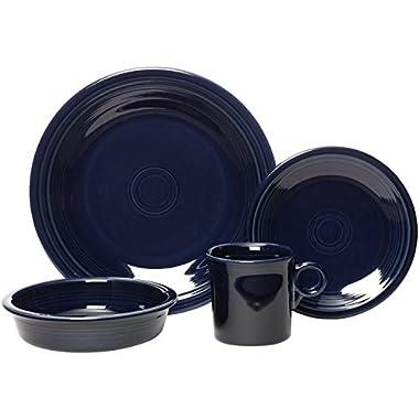 Fiestaware 16pc Dinnerware Set - Cobalt Blue