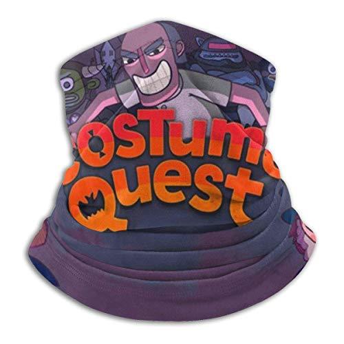 Cos-Tu-Me Quest 'S Staub Wind UV Sonnenschutz Elastic Seaml Fleece Halswärmer Sturmhaube Hals Gamasche Bandana Gesichtsschutz