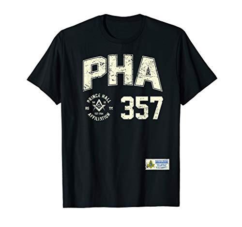Masonic Prince Hall PHA 357 Sports Jersey Style Freemason T-Shirt
