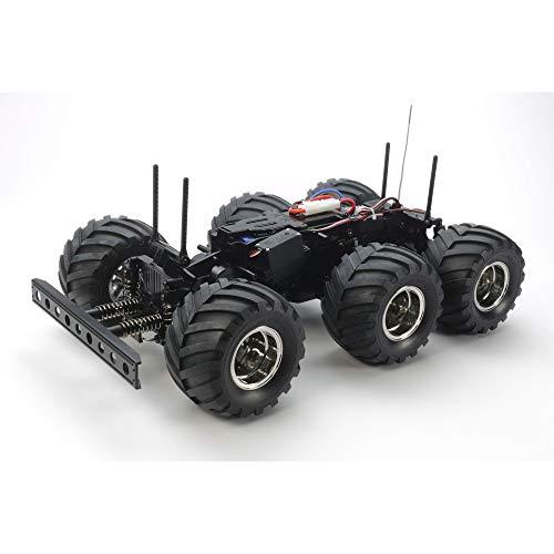 TAMIYA 58646 - 1:18 RC Konghead 6x6 (G6-01), ferngesteuertes Auto/ Fahrzeug, Modellbau, Bausatz, Hobby, Basteln, Modell, Zusammenbauen