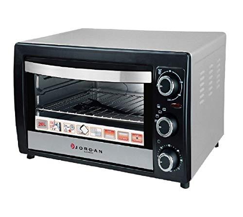 Forno elettrico termostato regolabile 20L 1300W Acciaio Jordan