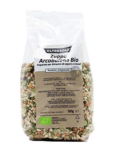 Zuppa legumi e cereali arcobaleno Biologica 500g Oltresole