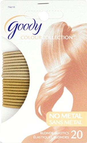Goody Élastiques pour cheveux blonds Colour Collection (3 paquets)