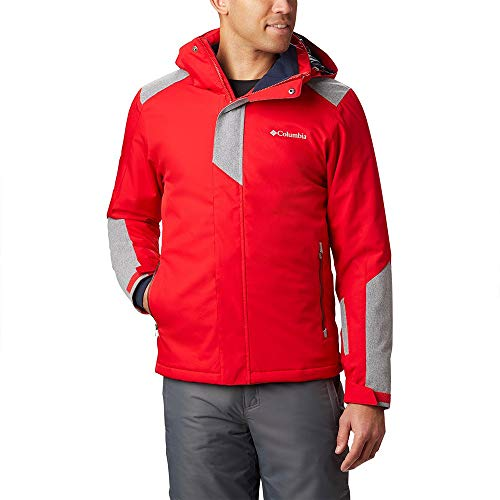 Columbia Sportswear Herren Pala Peak Jacke, Mountain Red, M