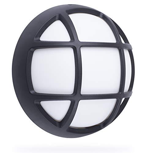 Smartwares Aplique Exterior LED, Protección, Black