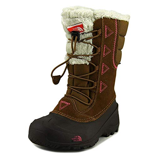 The North Face Kids Girl's Shellista Lace II (Toddler/Little Kid/Big Kid) Dachshund Brown/Cabaret Pink 2 Little Kid