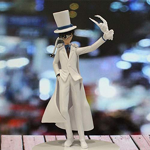 Detective Conan: Kid The Phantom Thief PVC Figura Alto 16 Cm  AKA: Kaitou Kiddo Kid  Paloma Ver  Modelo De Escultura De Personajes De Dibujos Animados, Decoraciones De Escritorio De La Computadora
