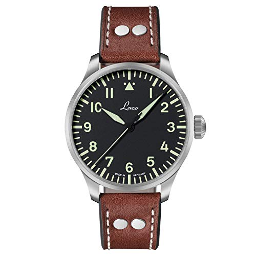 Orologio da aviatore base Augsburg 42 di Laco – Made in Germany – 42 mm...