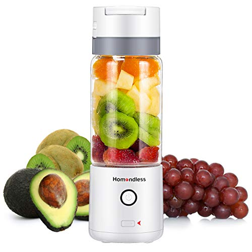 Portable Smoothie Blender 14oz Glass Cup $12.44 (60% OFF)