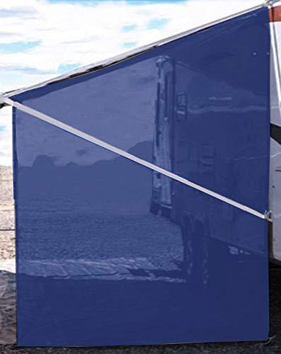 Tentproinc RV Awning Sunshade Screen ● Navy Blue Mesh Sun Shade...