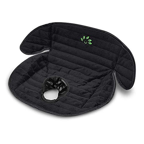 Piddle Pad Car Seat Protector, Waterproof Potty Training Seat Saver Pads for Infants Baby and Toddlers, Machine Wash and Dry (Black)