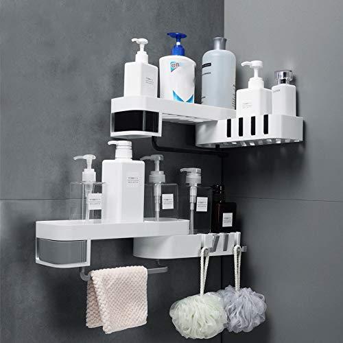 DSD Drehbarer Shampoo-Duschhalter für Badezimmer