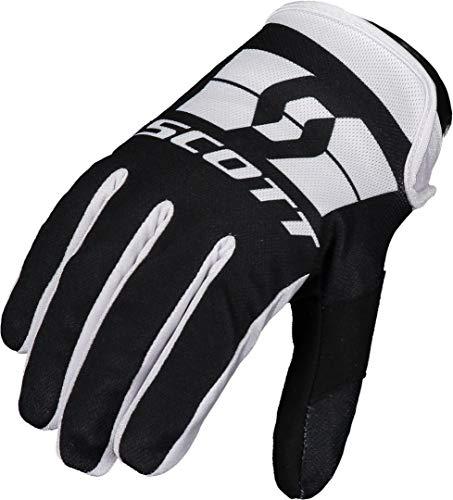 Scott 250 Swap MX Motocross/DH Fahrrad Handschuhe schwarz/weiß 2021: Größe: S (8)