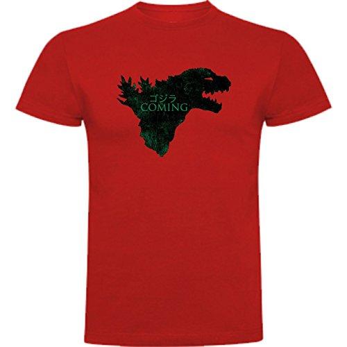 The Fan Tee Camiseta de Hombre Juego de Tronos Stark Daenerys Lanister Arya Jon Nieve Godzilla M