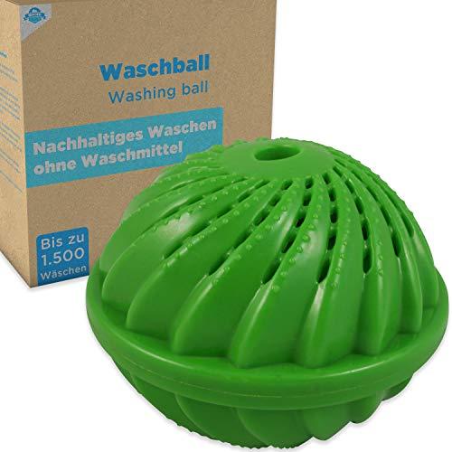 HOME DEPT Waschball Waschkugel für Waschmaschine mit natürlicher Wirkung durch Silberionen und Mineralien. Waschen ohne Waschmittel. Öko Wäscheball - Nachhaltig, Sustainable und Ökologisches waschen.