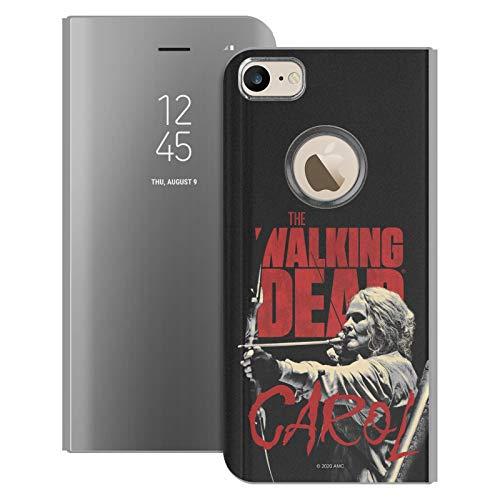 Oficial AMC The Walking Dead Carol Retratos de Personajes de la Temporada Fundas con Función Atril Compatible con Apple iPhone 6 / iPhone 6s