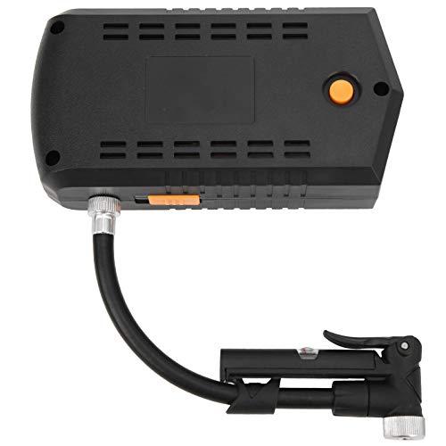 SALUTUYA Bomba de Carga de Aire eléctrica Detección de presión de neumáticos Bomba Inflable eléctrica DC, para Scooter eléctrico