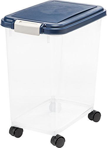 IRIS USA Airtight Pet Food Storage Container MP-8, 33 QT