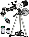 a telescope makes great gift ideas for kids