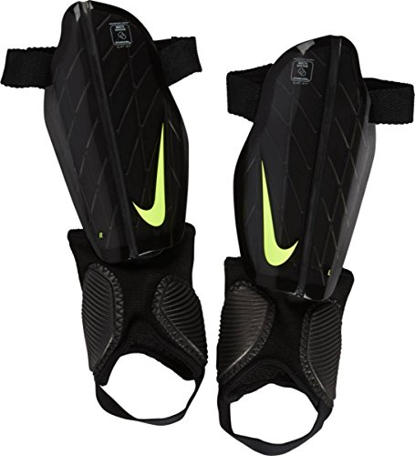 Nike Kinder Protegga Flex Schienbeinschoner, Black/Black/Volt, L