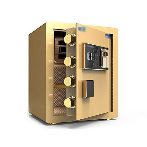 Sale!! CL Safety Cabinet, 45cm high Upgrade Anti-Theft Password Fingerprint Household Steel Safe Dep...