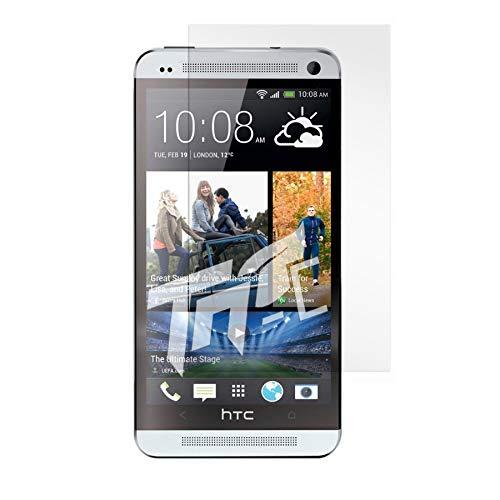 TM-Concept ® película/cristal de protección pantalla–HTC One M7–Cristal Templado HQ Crystal Ultra...