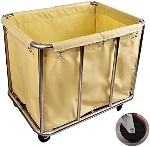 DYB Laundry Sorter Sale price Cart Rolling Hamper Troll Free Shipping New