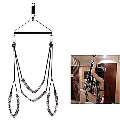 CWHMYB Sē & x Swing Set Adult Swivel Swings Unterstützung 360 Spinning 800 Pfund Tragfähigkeit - Höhenverstellbar Fühlen Sie Sich wie das gleiche