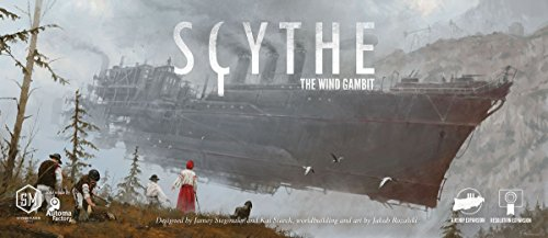 Ghenos Games - SCWG - Scythe The Wind Gambit-Espansione