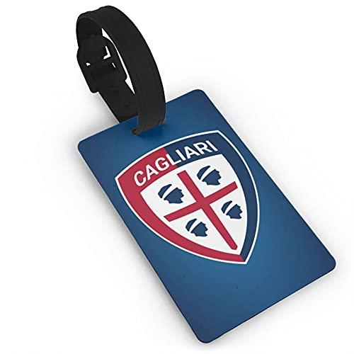 Ca-Gliari Ca-Lcio etiqueta de equipaje con anillo de alambre para identificador de viaje y etiqueta de maleta