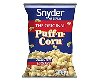 Snyder of Berlin Original Puff N Corn 6 oz Bags - 3 / Box
