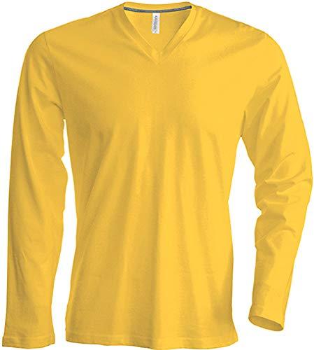 Kariban - T-shirt col V manches longues