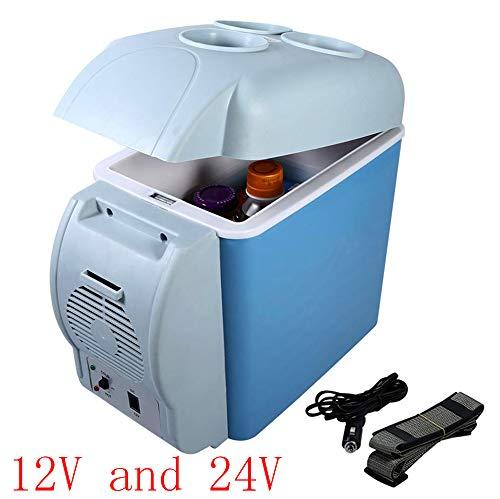 SHENGY 12 V und 24 V Universal-Autokühlschrank, Reise-Mini-Kühler, Kühlung und Isolierung, für gekühlte Medikamente, Kosmetik, Lebensmittel