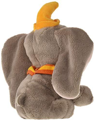Famosa Softies 760017355 Dumbo Disney Lizensiertes Plüschtier Elefant, Grau, 17 cm