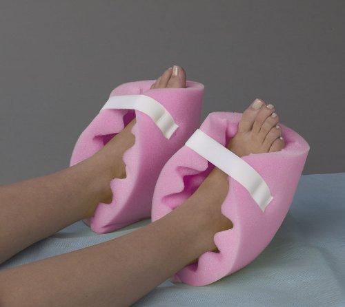 Medline NON081440PH Convoluted Foam Heel Protectors, Purple