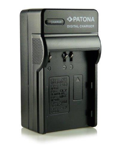 Patona - Cargador para Nikon D50, D70, D70s, D80, D90, D100, D200, D300, D300S, D700 y otras (equivalente a EN-EL3, ENEL3a y EN-EL3E)
