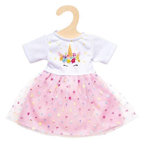 Heless 2060 - Kleid für Puppen, Einhorn Hannah, Größe 35 - 45 cm