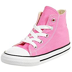 commercial Converse Kids Chuck Taylor All-Star High Top Sneakers Pink 5m US converse skate shoe