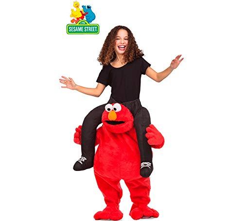 Barrio Sésamo Disfraz a Hombros de Elmo para niños