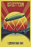 Close Up Póster Led Zeppelin - Celebration Day (61cm x 91,5cm) + 1 póster Sorpresa de Regalo